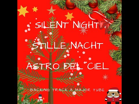 how to sing silent night in german