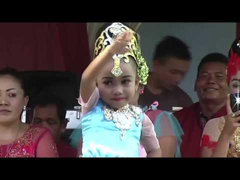 Anak Kecil Pintar Tari Sunda Jaipong  KEMBANG TANJUNG  I AMPLOP BIRU
