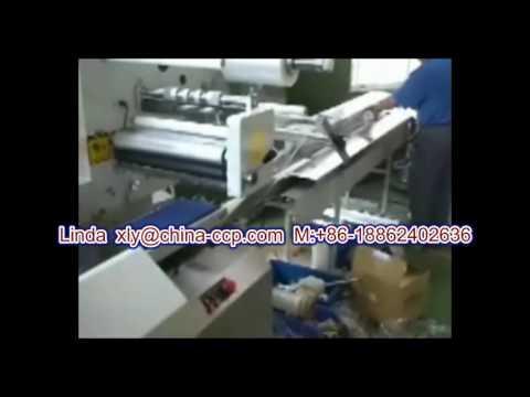 long roll paper  horizontal packing machine  CCP 450FI