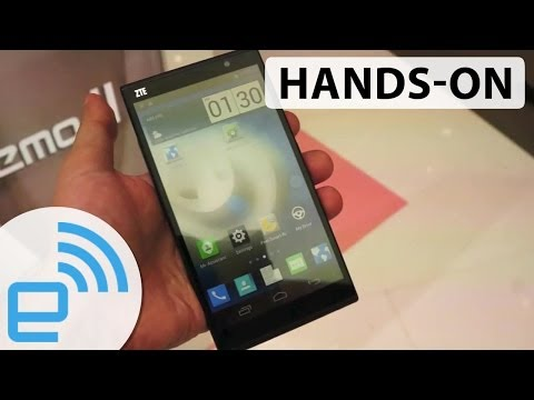 ZTE Grand Memo II LTE hands-on | Engadget at MWC 2014