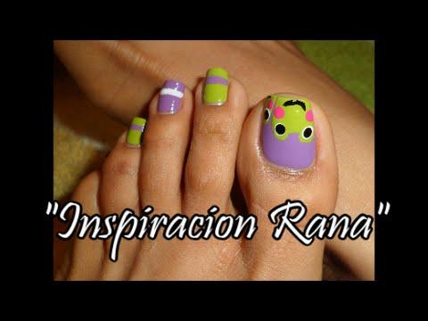 Inspiracion rana decoraci n de u as para los pies easy for Decoracion unas pies