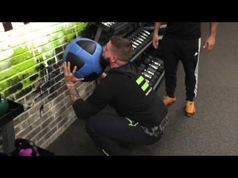 How to Use a Wall Ball - VENT Fitness Friday | Clifton Park, NY