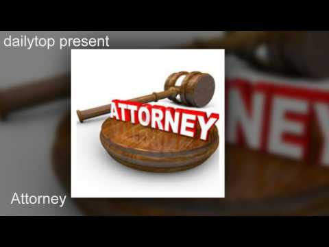 Attorney: a person appointed to act for another in business or legal matters