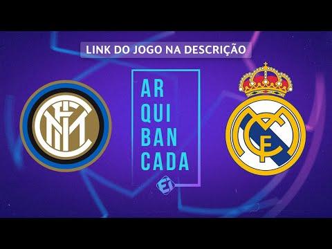 INTER DE MILÃO X REAL MADRID (NARRAÇÃO AO VIVO) - CHAMPIONS LEAGUE