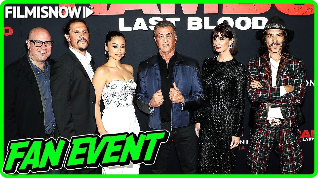 RAMBO: LAST BLOOD | New York Fan Screening