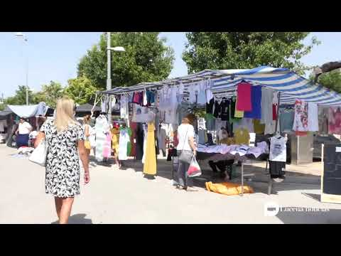 VÍDEO: Vuelve a Lucena el mercadillo de los miércoles entre mascarillas y medidas de seguridad