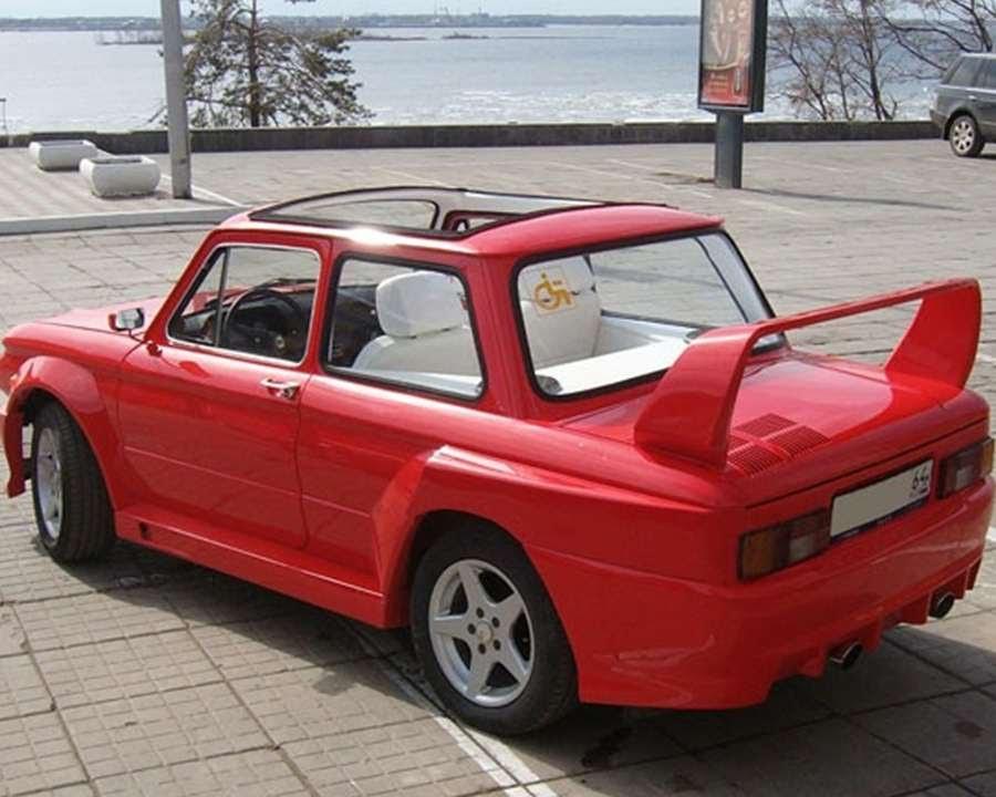 61 ЗАЗ 968 Тюнинг автомобилей YouTube