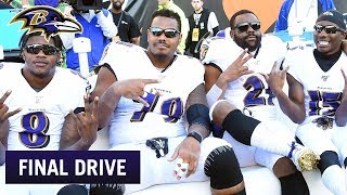 Ravens Are Having Fun | Ravens Final Drive