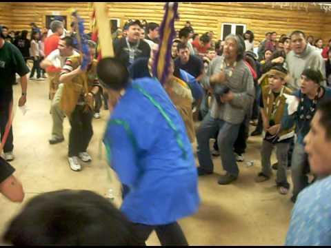 Athabascan Indians dancing