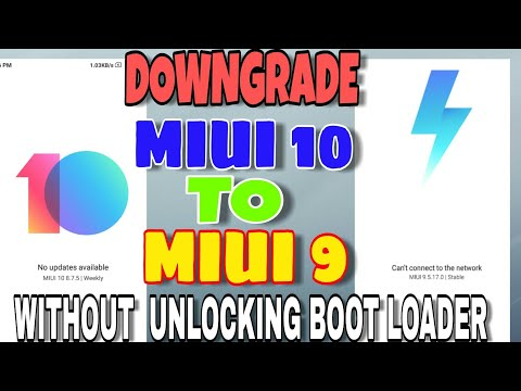 Downgrade MIUI 10 to MIUI 9 without bootloader unlock 100% Working live proof Redmi Note 5 Pro