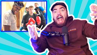 KSI VS THE SIDEMEN?? - Race To 10 Million Subs