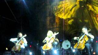 Apocalyptica Nothing Else Matters (Sport Colombia - Paraguay 17.01.2012)