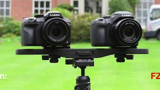 A video comparison between the Panasonic Lumix FZ300 and the FZ82 cameras