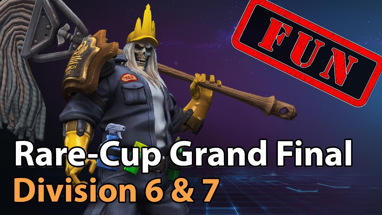 ► Rare Cup - Grand Final - Division 6 & 7 - Heroes of the Storm Esports