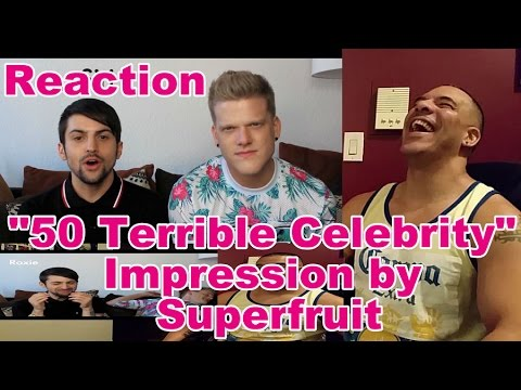 50 TERRIBLE CELEBRITY IMPRESSIONS - YouTube