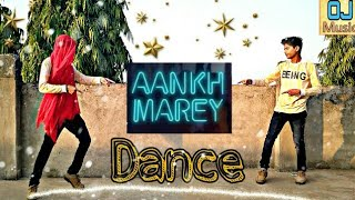 SIMMBA: Aankh Marey | Easy dance choreography | funny dance video