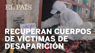 #COLOMBIA | Recuperan cuerpos de VÍCTIMAS de DESAPARICIÓN