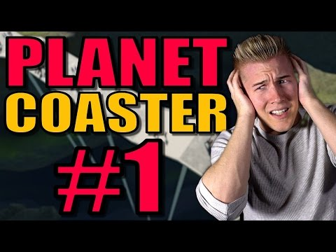 Planet Coaster Gameplay Ep 1 / Part 1: Molly's Gully Walkthrough Career Mode!