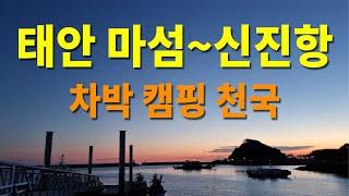 태안 마섬~신진항 차박 캠핑 천국