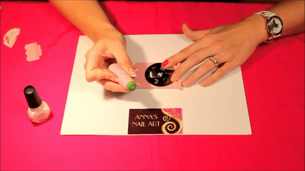 Anna\'s Nail Art - Basic Stamping Techniques - YouTube