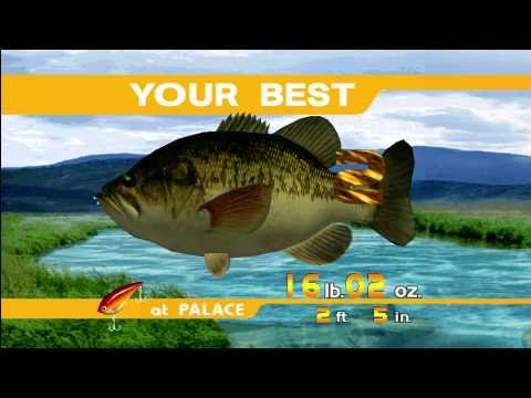 Sega Bass Fishing Xbox 360 Best Fishing Game Evah Youtube