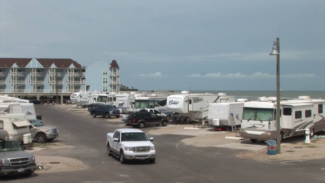 Dellanera RV Park On Galveston Island Texas