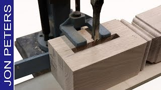 Mortise Machine Basics - How to use a Hollow Chisel Mortiser