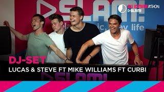 Lucas & Steve x Mike Williams x Curbi (DJ-set) | Bij Igmarathon