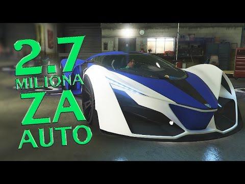 NAJNOVIJI - NAJSKUPLJI & NAJBRZI AUTO U IGRICI ! 2.7 MILIONA GROTTI X80 PROTO - GTA V