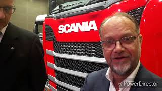 English Content: We talk to Scania Chief Designer about the New Generation Truck