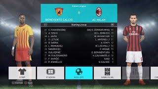 PES 2018:Sezon A.C.Milan #4