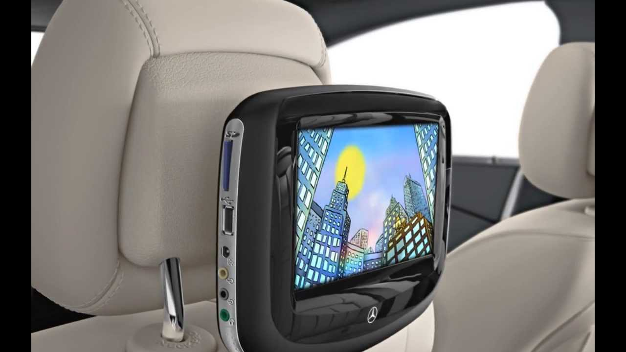 Rear seat entertainment system youtube for Mercedes benz rear seat entertainment system