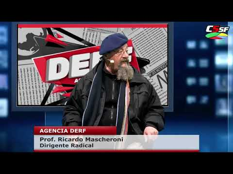 Mascheroni: Soy radical alfonsinista y voy a apoyar a Fernández-Fernández