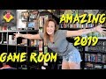 (2019) Retro Game Room Tour *MUST SEE* | Enter The Lady Lounge | TheGebs24