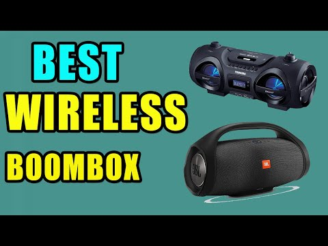 Best Portable Wireless Boomboxes of 2020 || Portable BlueTooth Boomboxes Reviews || Buying Guide
