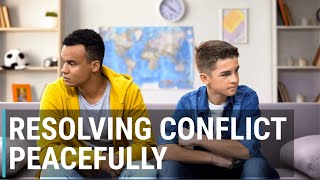 SEL Video Lesson of the Week (week 36) Resolving Conflict