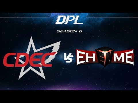 CDEC Gaming vs EHOME vod
