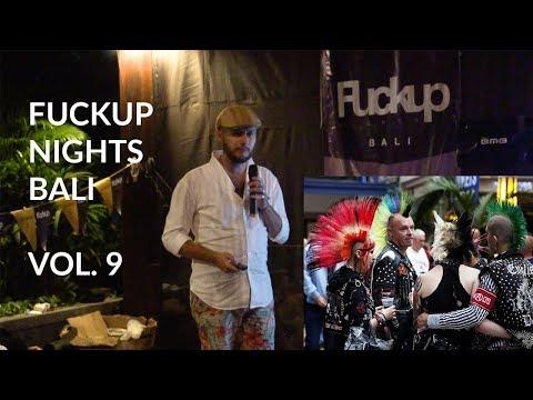 FuckUp Nights Bali vol. 9 - Emanuele Nicolella