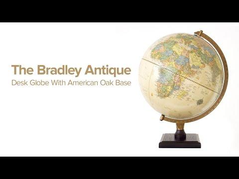 The Bradley Desk Globe