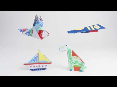 14008 SES Origami animals and vehicles