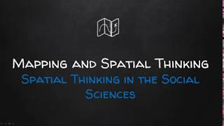 Spatial Think Social Sciences