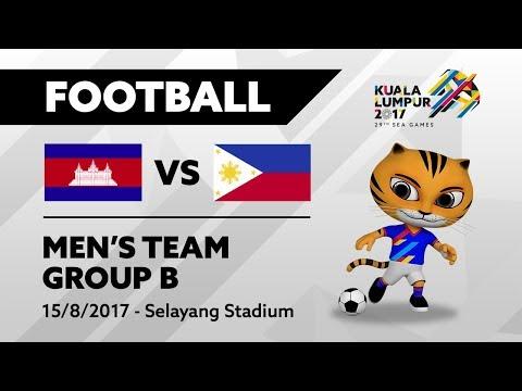 KL2017 Men's Football CAM 🇰🇭 vs PHI 🇵🇭 - 15/08/2017