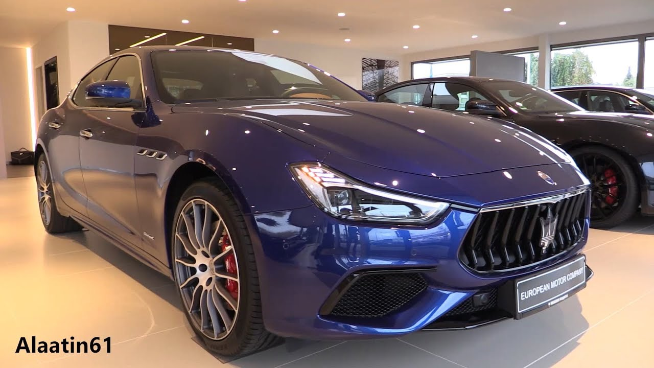 inside the new maserati ghibli 2018 details in depth review interior exterior youtube. Black Bedroom Furniture Sets. Home Design Ideas