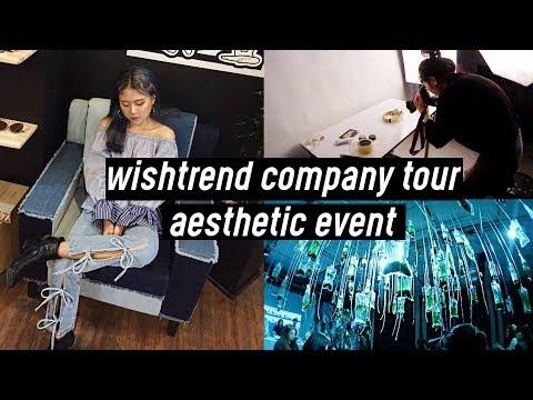 Wishtrend Korean Beauty Company Tour & Estee Lauder Event (Micro-Algae)  | DTV #22