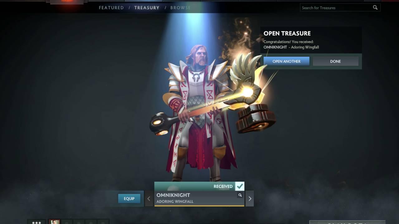 New Dota 2 Immortal Treasures Drop In: Dota 2 Battle Pass/Compendium 2016 Immortal Treasure 1