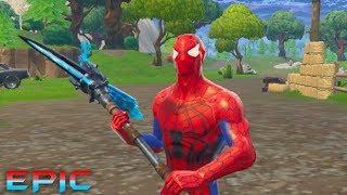 Cómo obtener la piel de Spider-Man en FORTNITE!!! *EPIC*