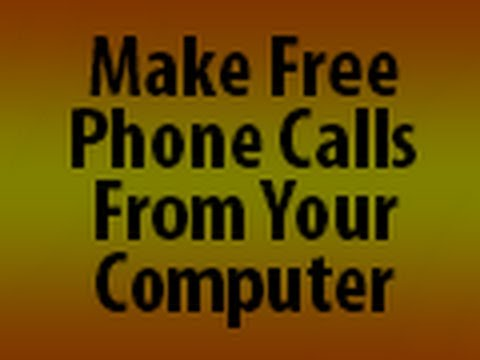 Real FREE Unlimited PC To Landline & Mobile Calling Forever.