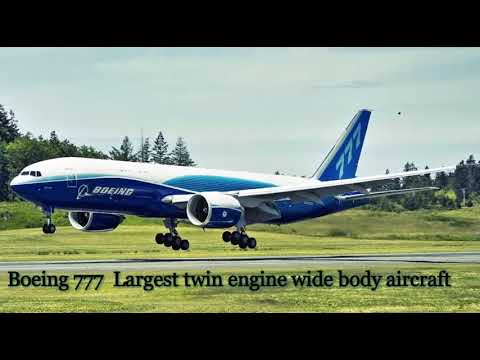boeing 777 largest twin engine wide body aircraft