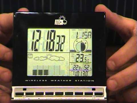 atech wireless weather station instructions