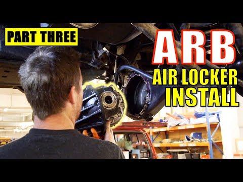 ARB AIR LOCKER INSTALL - IN DETAIL - TOYOTA HILUX SURF [PART 3]